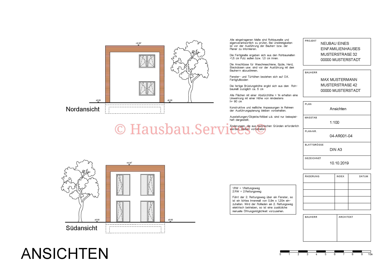 Stadtvilla 2 Hausbau Services